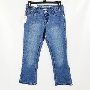 Route 66 Skinny Low-Rise Bootcut Jeans 10.5 Plus